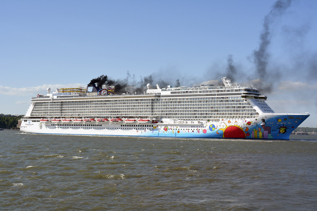 Picture Of The Norwegian Breakaway Leaving On Its Inaugura Flickr - Cruises out of nyc