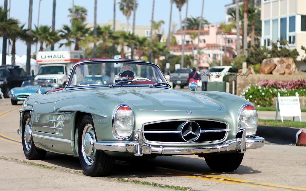 Mercedes benz 300 sl roadster la jolla concours d 39 elegan for Mercedes benz la jolla