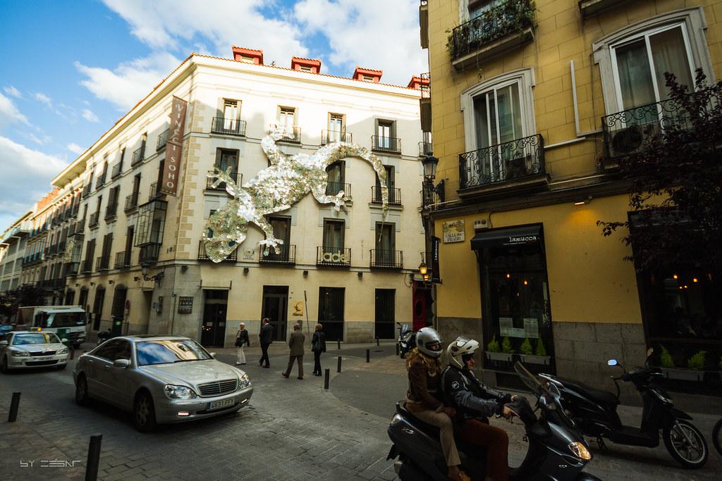 Calle del prado con calle del le n madrid en la calle for Calle del prado 9 madrid espana
