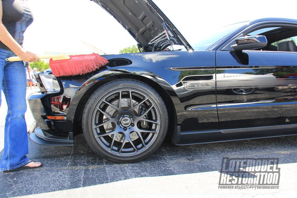 World Of Wheels >> Black S197 Mustang on RTR Wheels at Mustang Week 2013 | Flickr