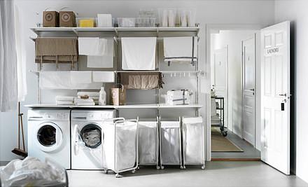 ikea algot laundry room heath ashli flickr. Black Bedroom Furniture Sets. Home Design Ideas