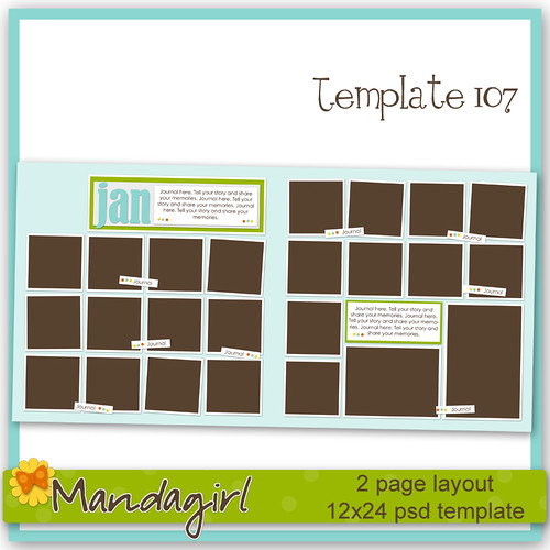 Template 107 preview -Mandagirl