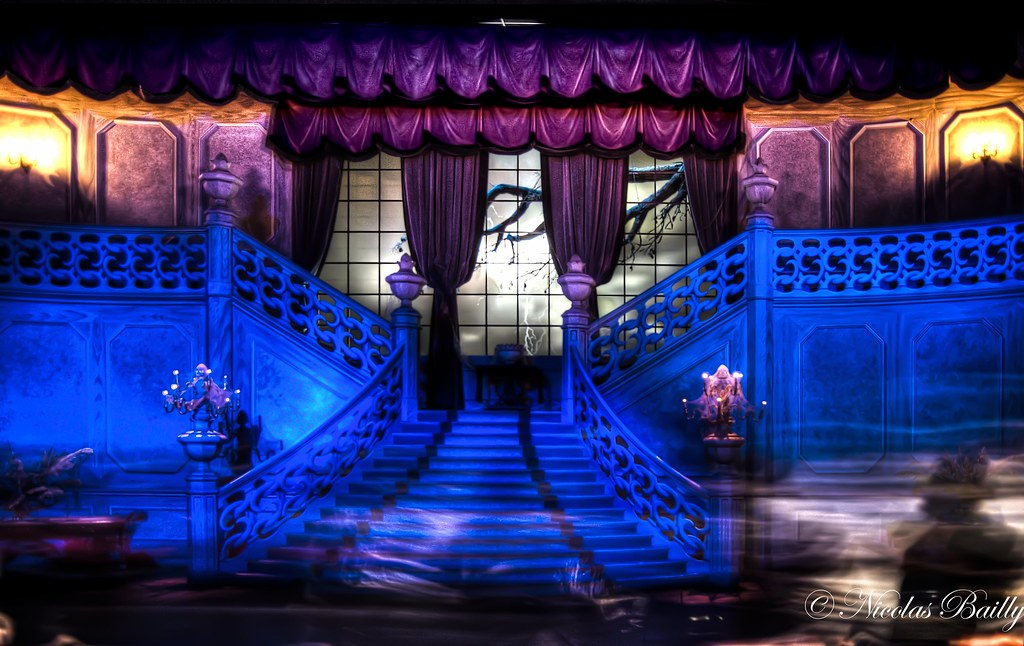 Mischievous Ghosts Inside Phantom Manor Fr Zone D