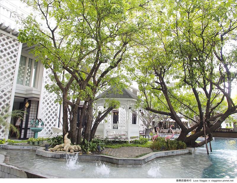 【曼谷 Bangkok】華昌文化遺產 Hua Chang Heritage 市中心高貴不貴 東方古典的渡假飯店 @薇樂莉 Love Viaggio | 旅行.生活.攝影