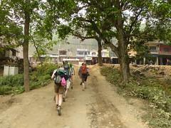 Arriving in Arughat Bazar