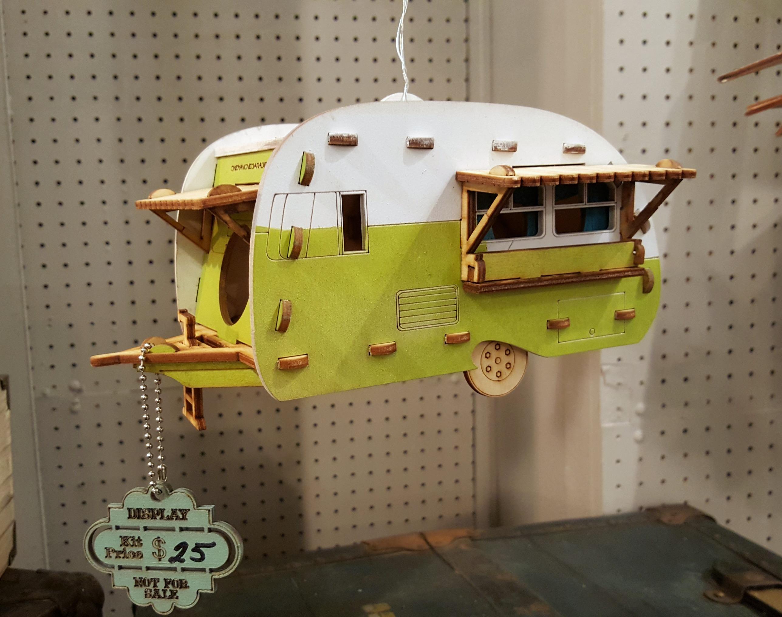 motorhome birdhouse