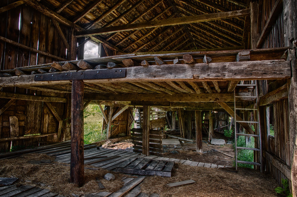 Inside The Old Barn On My Grandfather S Farm There Was