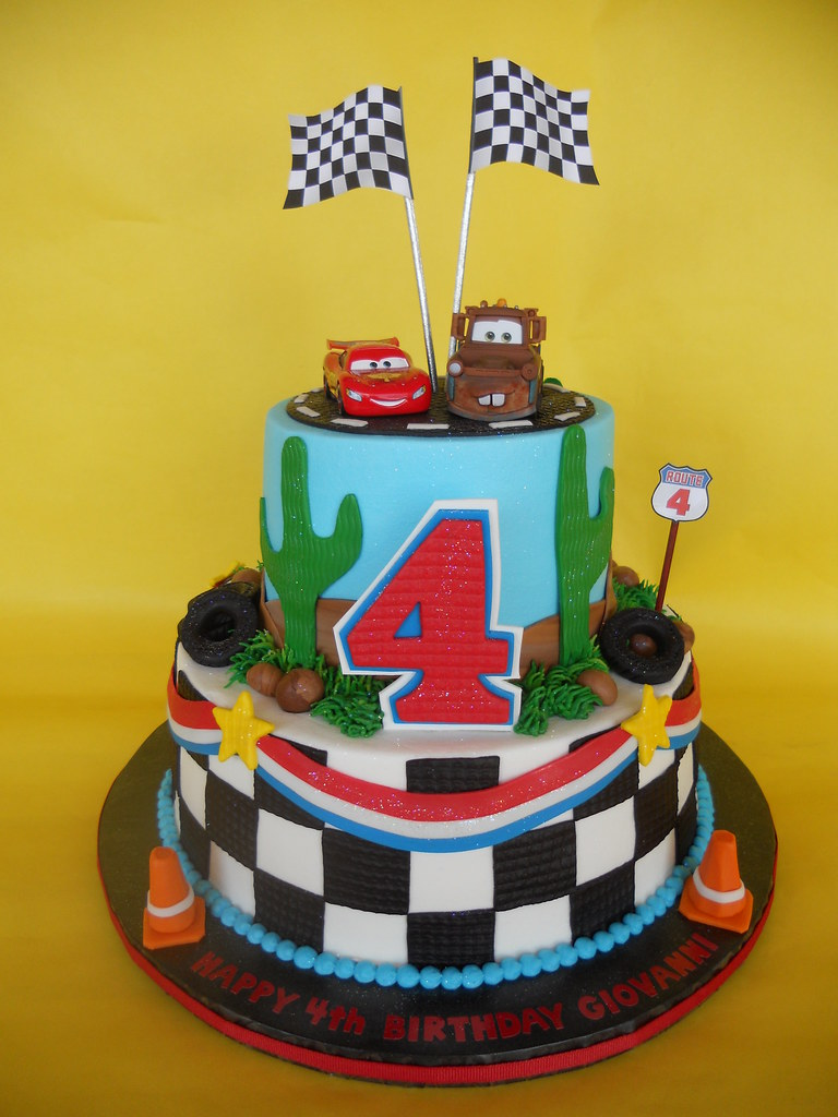 Disney Cars Birthday Cakes Pictures