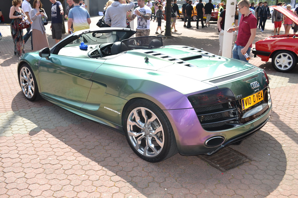 Audi R8 Pearlescent Paint Job Jambox998 Flickr