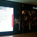Giant ad for MS-Windows Control Panel at Desigual