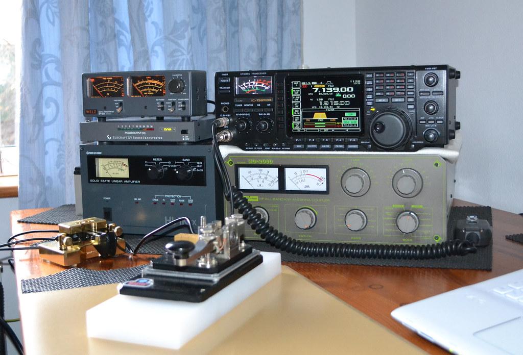 Amateur Radio Station Wb4omm: 2W0DAA / GW4JKR WELSH AMATEUR RADIO STATION ICOM IC-756 PR