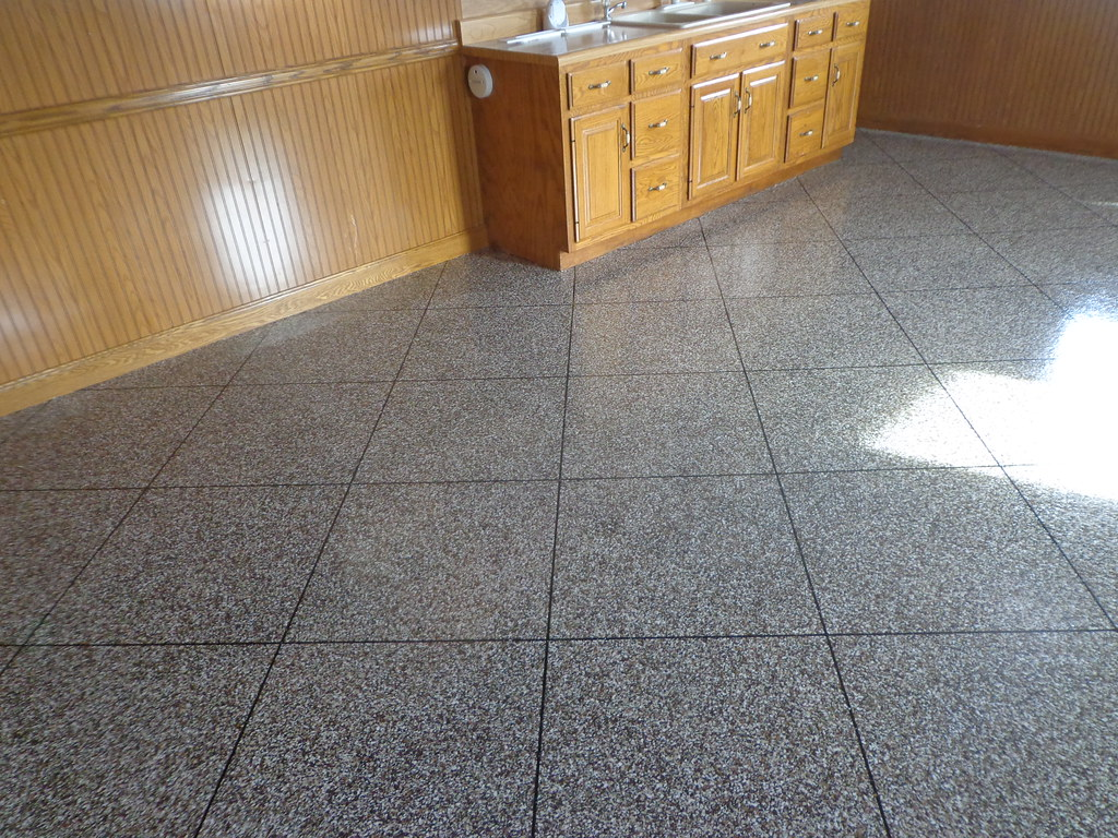 Kitchen Floor Tile Medium Galley