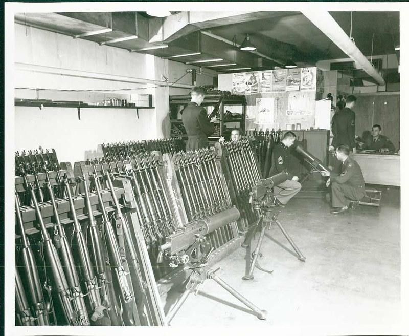Shooting Range in Alumni Hall Basement
