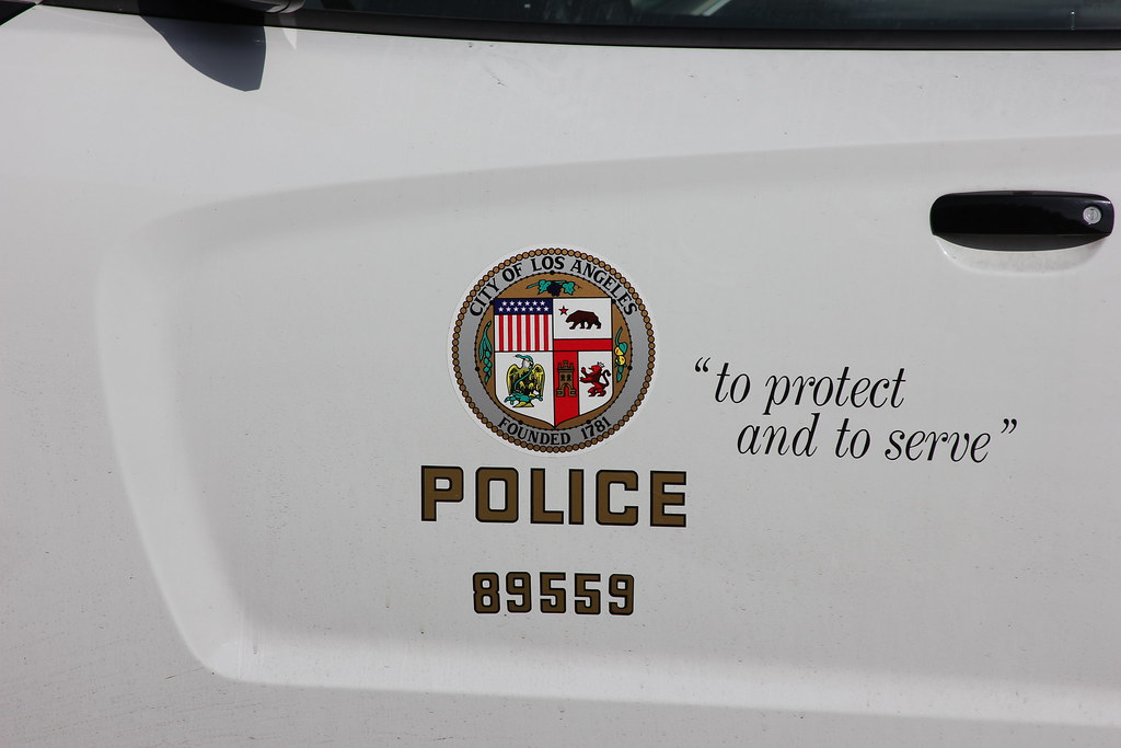 Lapd Door Decal Charger J L Flickr