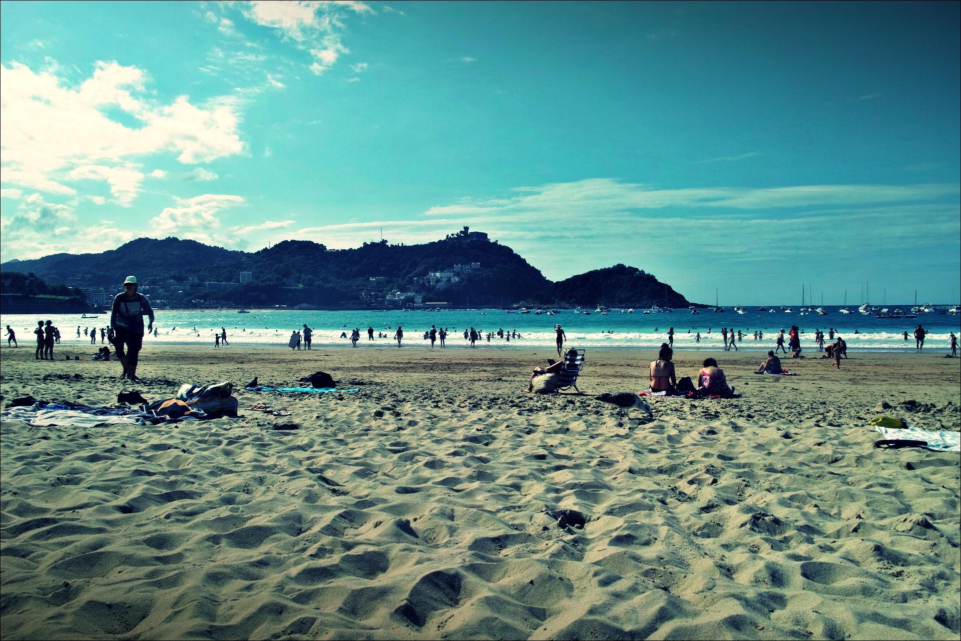해변-'산세바스티안 San Sebastian, Donostia'