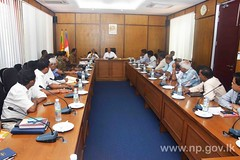 Meeting on the Prevention of Growing Drug Issues and Violence in Jaffna