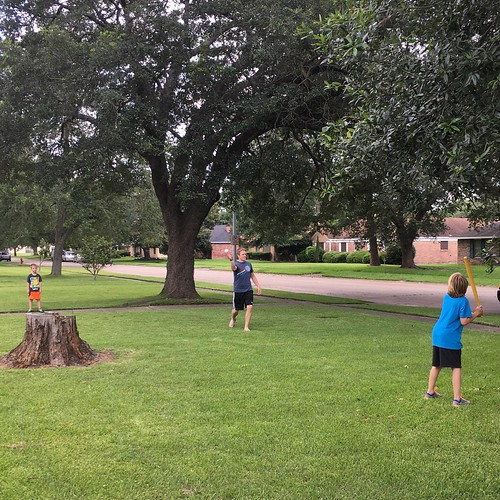 Smith Bros. Wiffle Ball has moved about 1000 miles southwest to Lake Charles, LA.