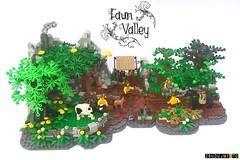 Faun Apple Farm by dzidek1983