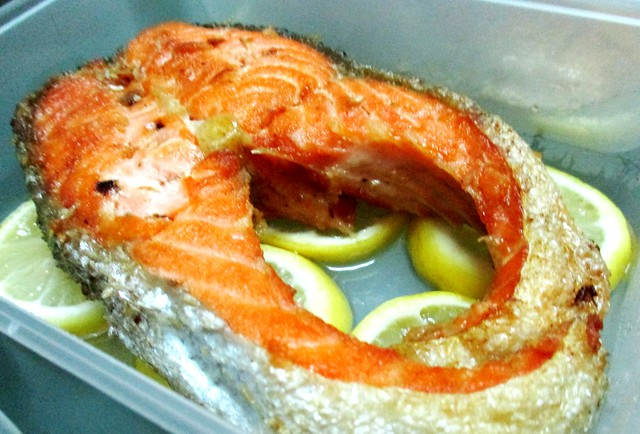 Salmon from Payung Cafe 1