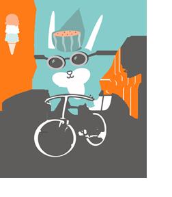 Summer Chow Vegan Bunny