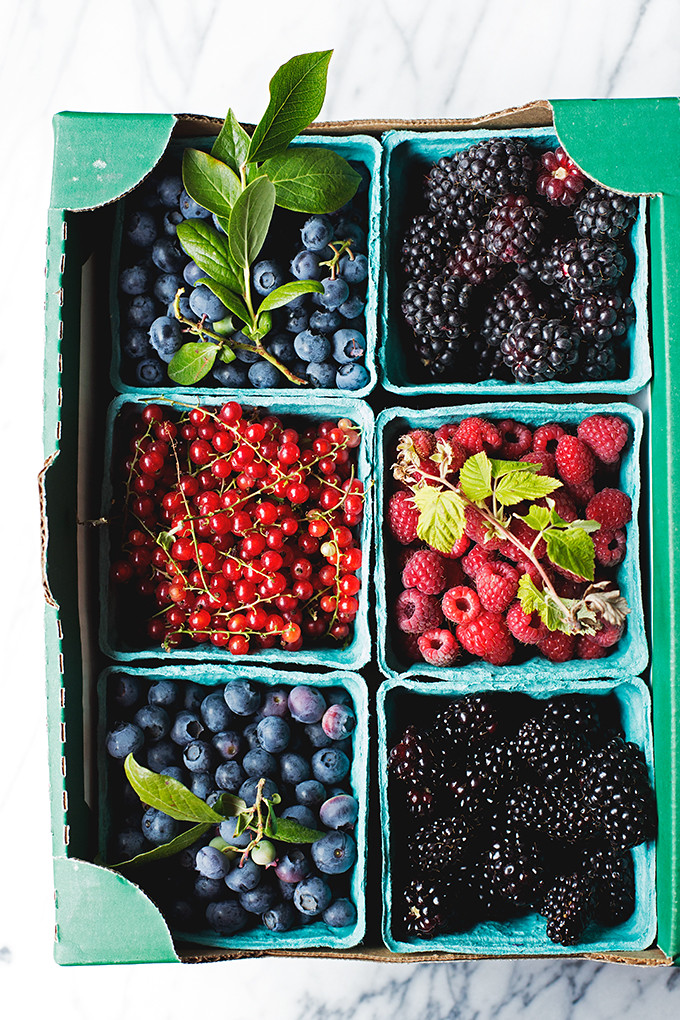 I'd Eat That--Berries from Columbia Farms on Sauvie Island
