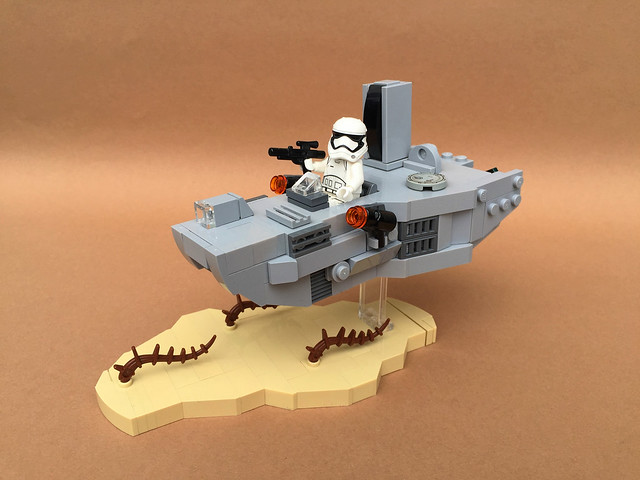 Atmospheric Assault Lander microfighter, by -Wat-, on Flickr