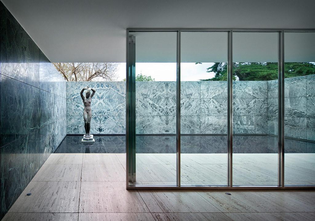 barcelona pavilion barcelona spain mies van der rohe flickr. Black Bedroom Furniture Sets. Home Design Ideas
