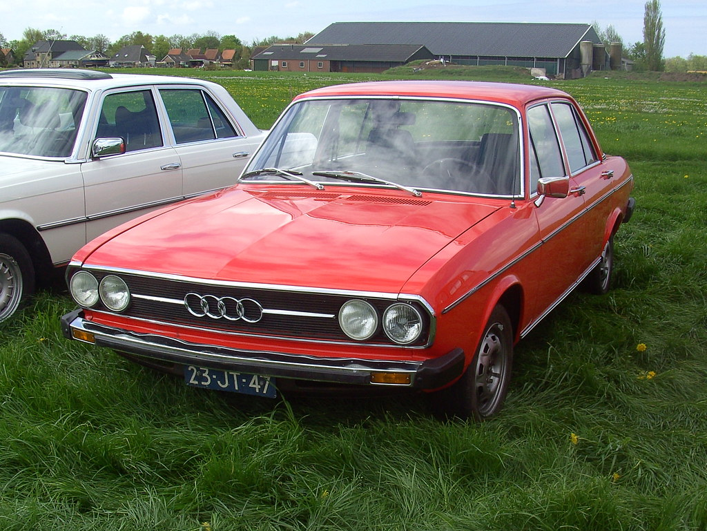 1976 Auto Union Audi 100 GL   Seen at the Oldtimer Festival …   Flickr