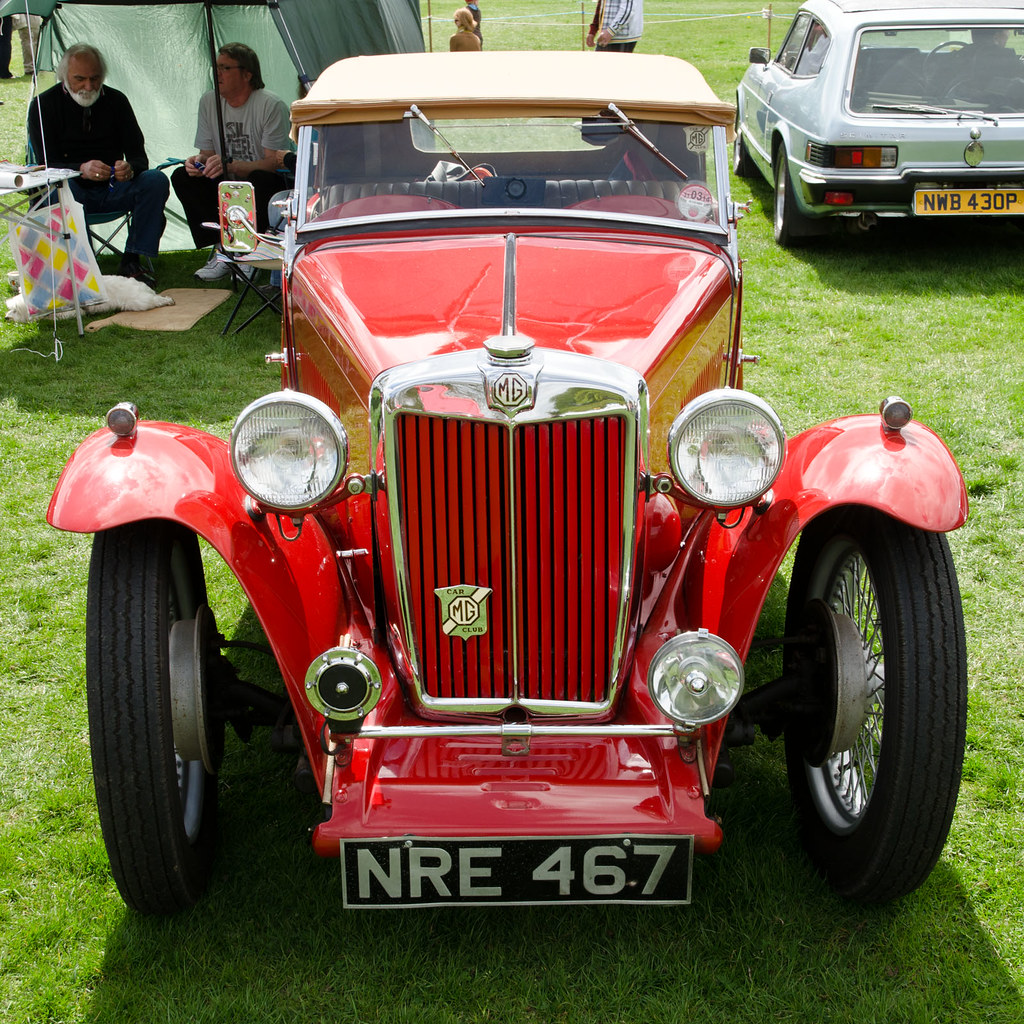 Mg Car Show Corbridge