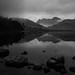 Searchlight (Blea Tarn Headlights Through Rain), Lake District