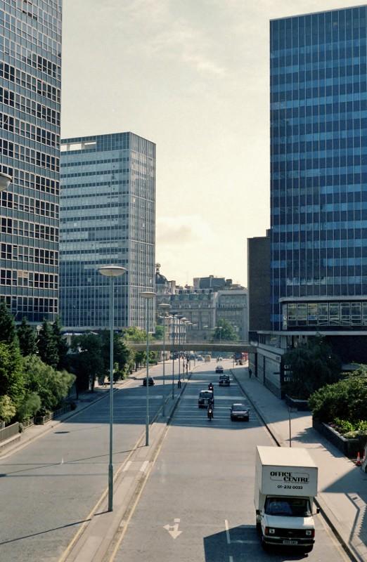 London in 1986