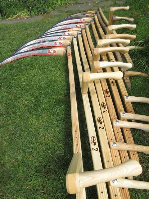 Austrian scythes