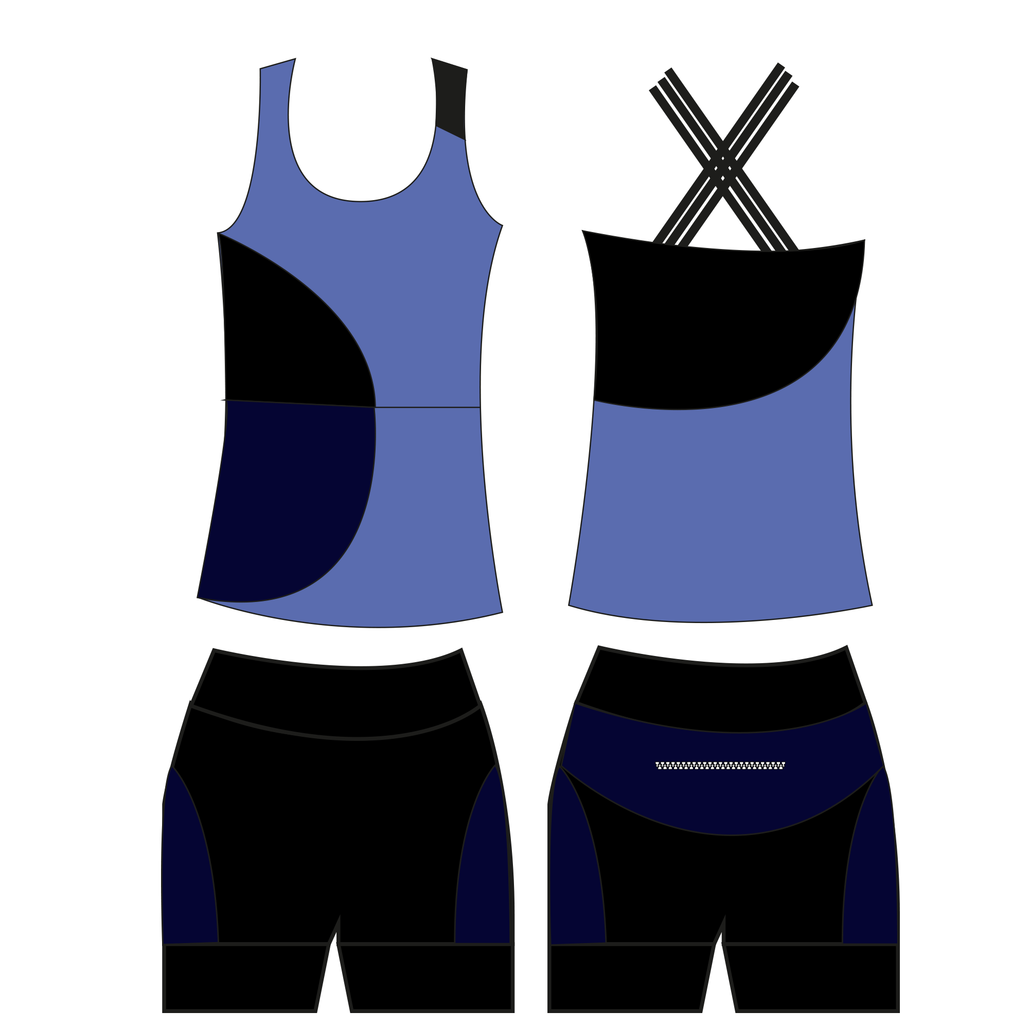 Workout set: Color block