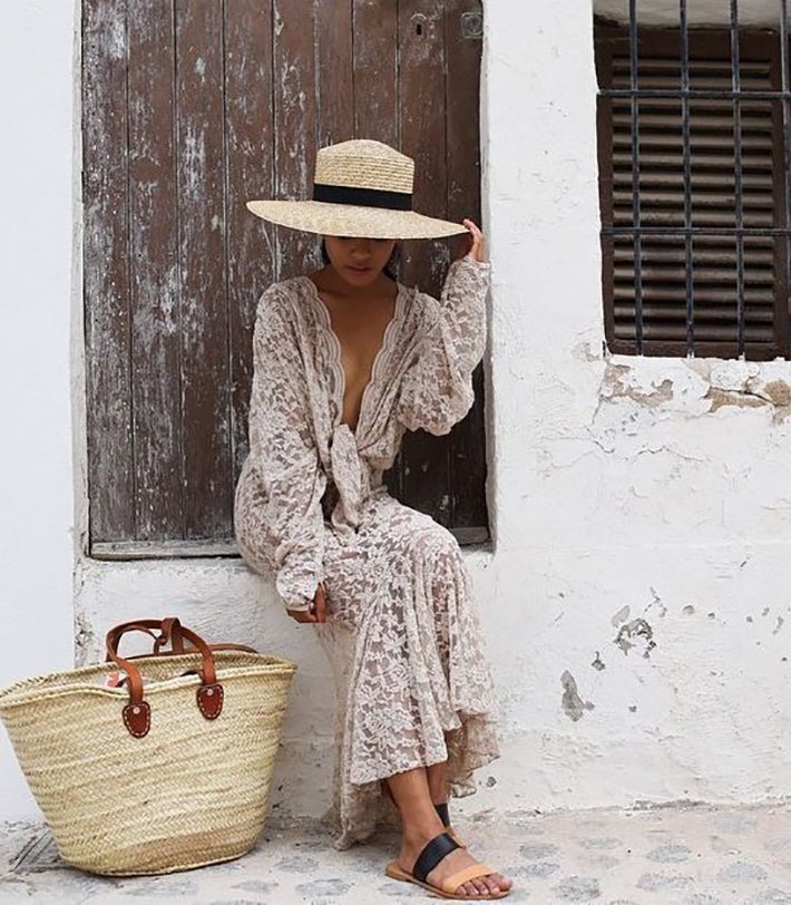 raffia and wicker bags summer street style inspiration fashion style accessories6