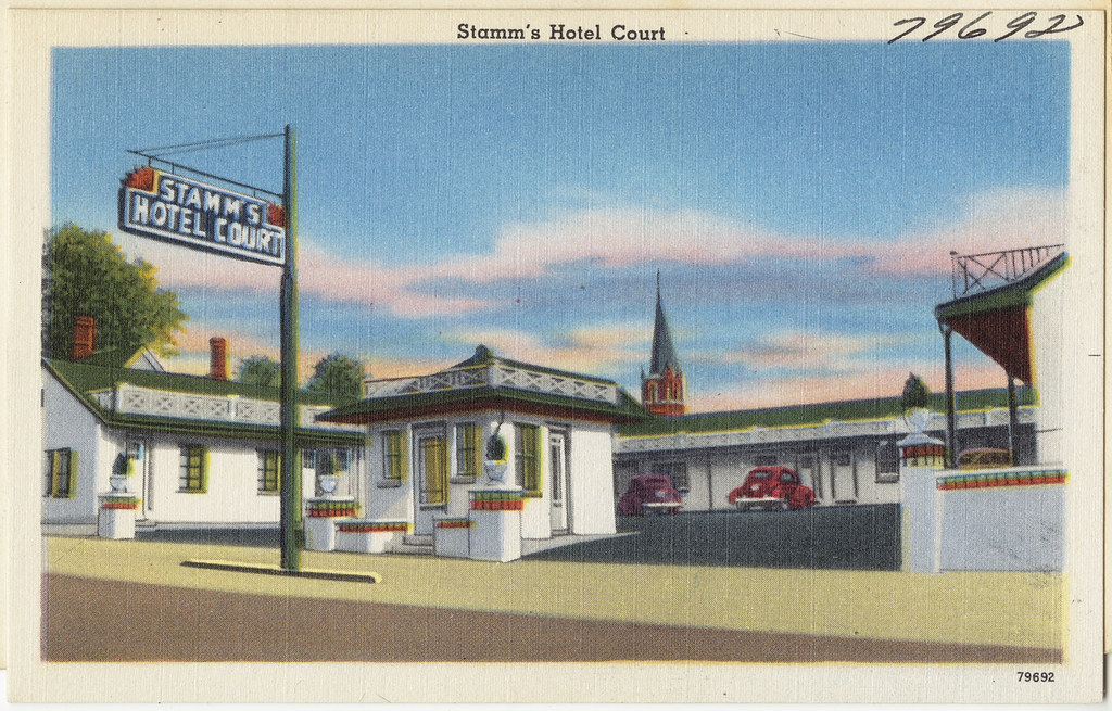 Stamm S Hotel Court 3rd And Main Sts Hopkinsville Ky
