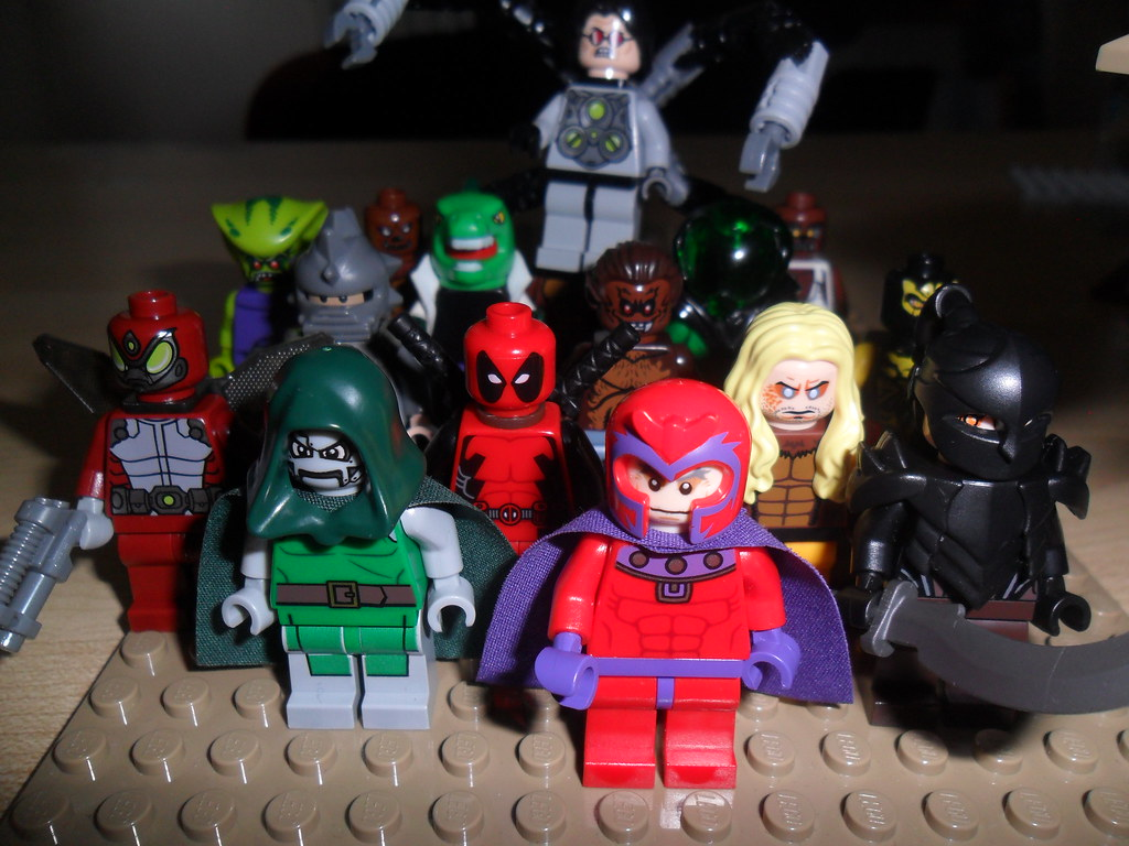 lego marvel superheroes villains magneto dr doom