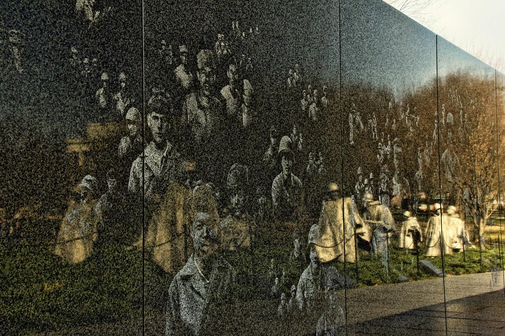 Korean War Veterans Memorial Washington Dc Last Night
