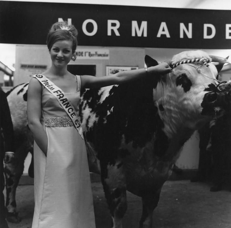 Jeanne Beck,Miss France 1967 - Blog de Miss-France1920
