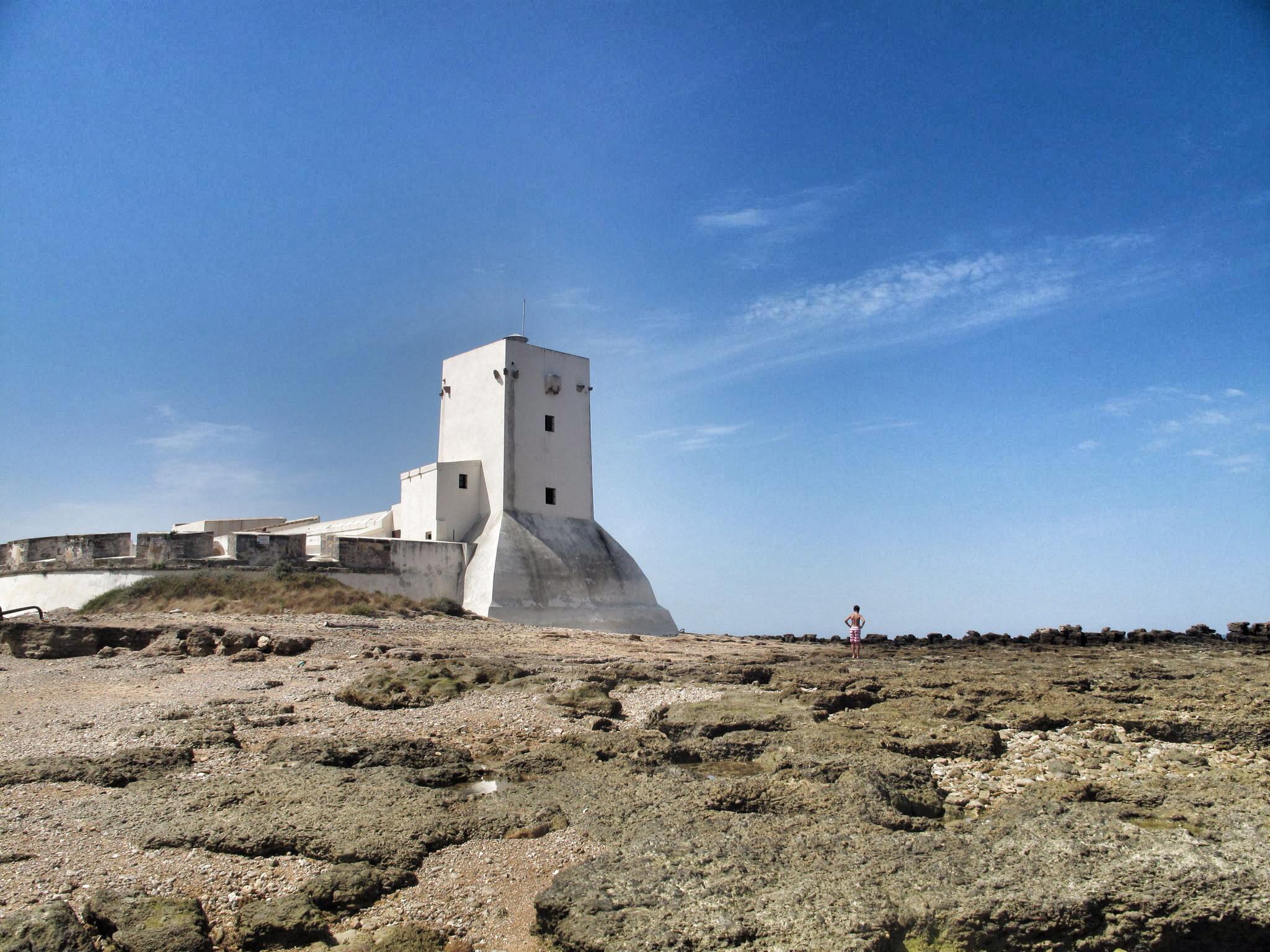 castillo sancti petri_torre_kayak