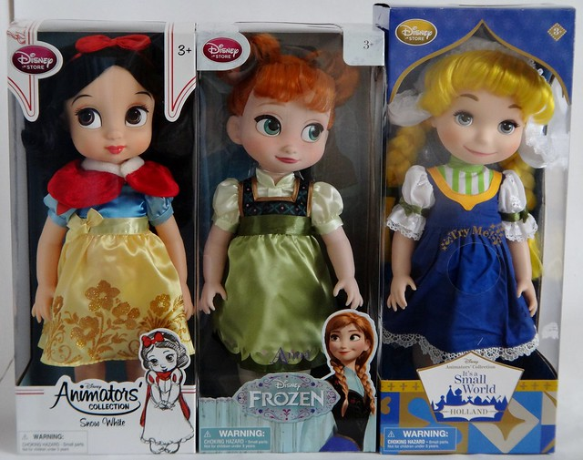 Dolls of The World Collection World Disney Store Dolls