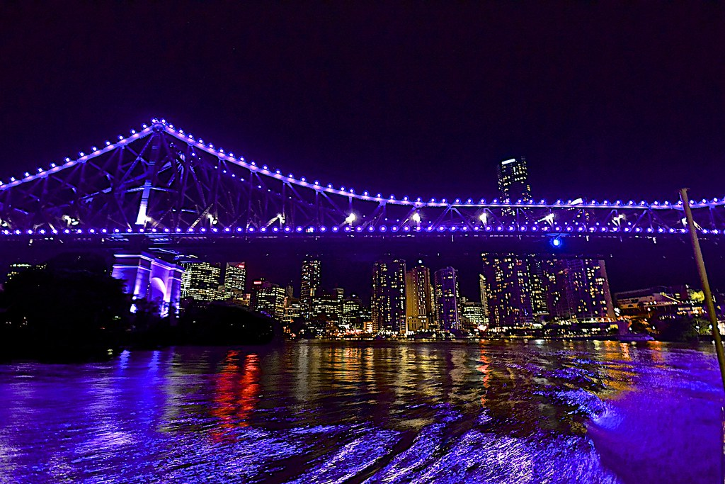 Story Purple Purple Story Bridge