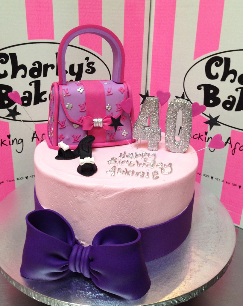 Latest Cake Design For Girl : Ladies fashion birthday cake Charly s Bakery Flickr
