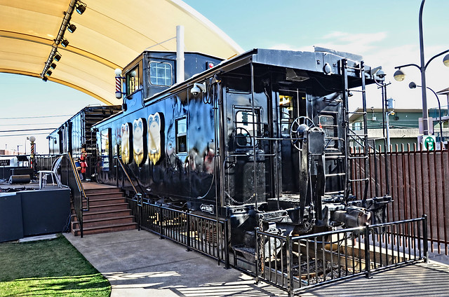 Downtown container park downtown las vegas nv caboose flickr photo sharing - Container homes las vegas ...