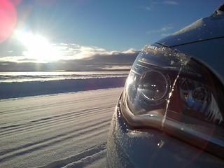 Opel-Prototypen beim Wintertest