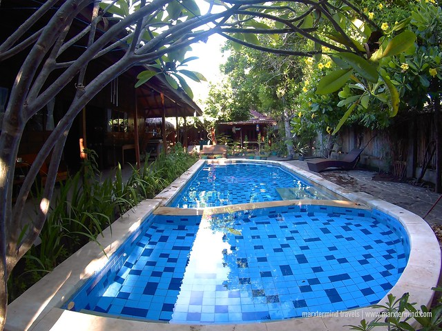 Pool Area at Omah Gili Resort Gili Air