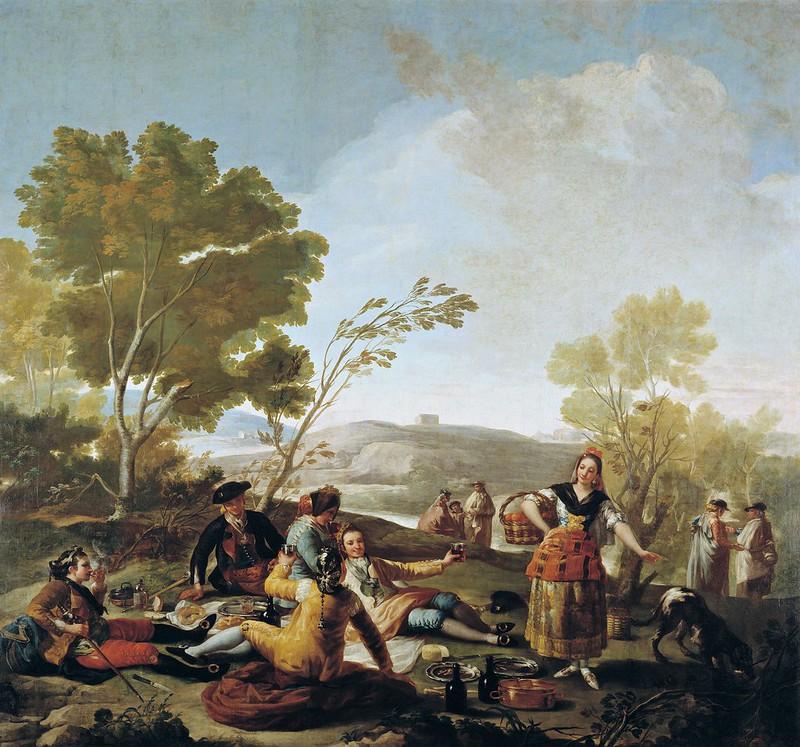 Francisco de Goya - La merienda a orilla del Manzanares