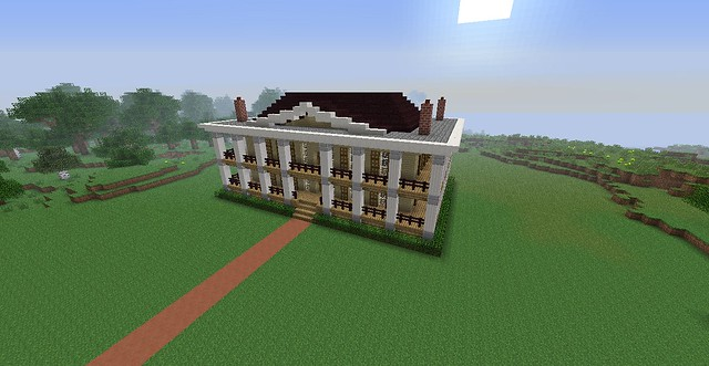 My 1800 s style plantation house flickr photo sharing for 1800s plantation homes