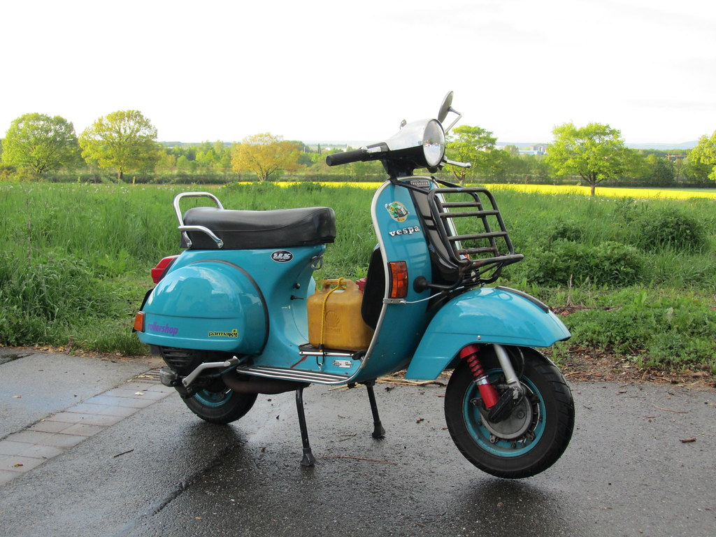 vespa px 80 e 135 177 from 1982 vespa low budget touring. Black Bedroom Furniture Sets. Home Design Ideas
