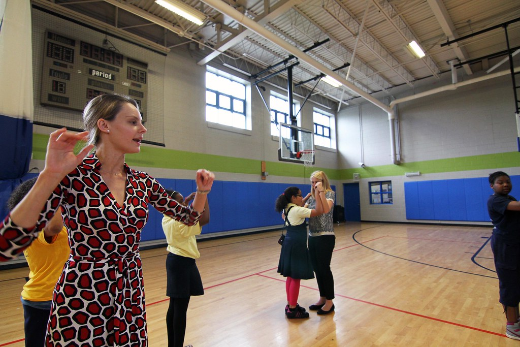 Orchard Gardens Students Learn How To Waltz Roxbury Ma