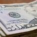 Stack of $50 Bills - closeup